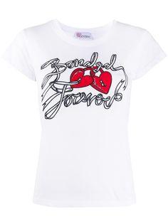 RedValentino футболка с надписью