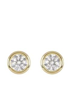 Tiffany & Co. Pre-Owned золотые серьги-гвоздики Elsa Peretti с бриллиантами