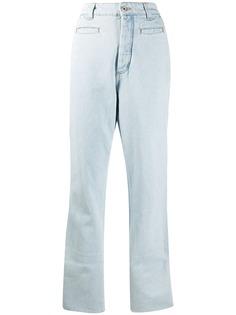 LOEWE прямые джинсы с завышенной талией