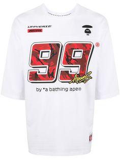 AAPE BY *A BATHING APE® футболка с графичным принтом