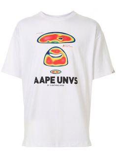 AAPE BY *A BATHING APE® футболка с логотипом
