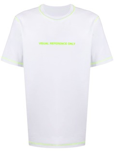 Diesel двусторонняя футболка с надписью