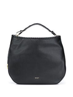 DKNY сумка-хобо с плетением