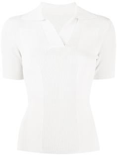Jacquemus трикотажная рубашка поло с открытой спиной
