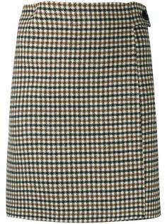 P.A.R.O.S.H. юбка мини в клетку