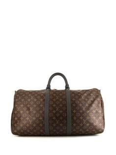 Louis Vuitton сумка Keepall 55 pre-owned из коллаборации с Kim Jones