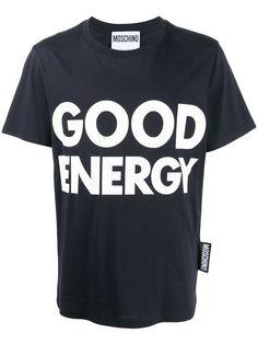 Moschino футболка с надписью
