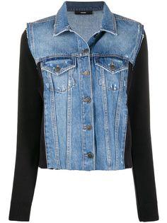 Diesel джинсовая куртка со вставками
