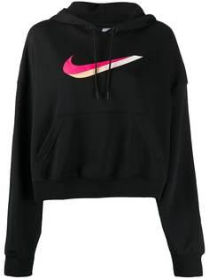 Nike худи с принтом Swoosh