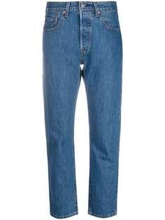 Levis укороченные джинсы с завышенной талией