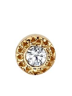 BVLA единичная серьга-гвоздик из розового золота с бриллиантом