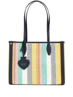 Kate Spade сумка-тоут Market в полоску