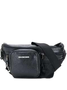 Balenciaga поясная сумка Explorer с молниями