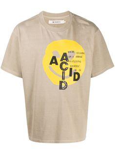MISBHV футболка с заклепками