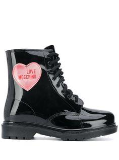 Love Moschino ботинки с нашивкой
