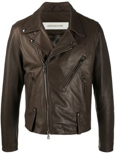 Giorgio Brato байкерская куртка