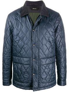 Ermenegildo Zegna стеганая куртка