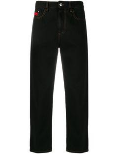 Gcds укороченные джинсы прямого кроя