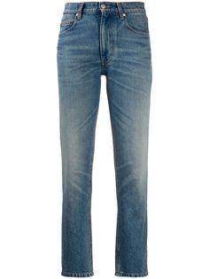 AMI укороченные джинсы прямого кроя