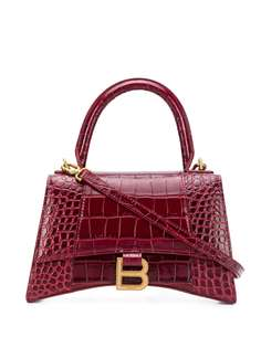 Balenciaga сумка Hourglass с логотипом B