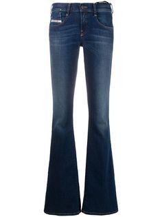 Diesel расклешенные джинсы с заниженной талией