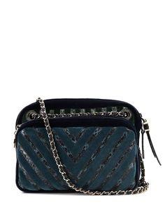 Chanel Pre-Owned каркасная сумка Chevron 2010-го года