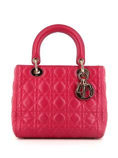 Christian Dior сумка-тоут Lady Dior pre-owned