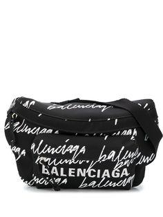 Balenciaga поясная сумка Wheel с логотипом