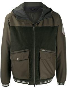 Ermenegildo Zegna куртка на молнии