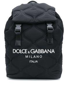 Dolce & Gabbana стеганый рюкзак