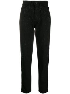 Emporio Armani декорированные джинсы кроя слим