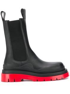 Bottega Veneta ботинки на массивной подошве