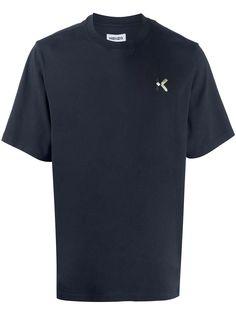 Kenzo футболка с вышитым логотипом