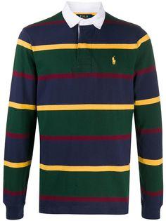 Polo Ralph Lauren рубашка поло в полоску