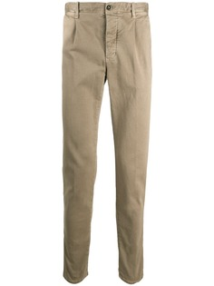 Incotex узкие брюки чинос
