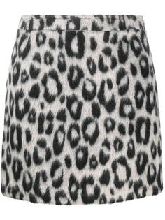 Andamane юбка мини с леопардовым принтом
