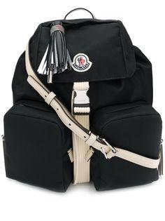Moncler рюкзак с нашивкой-логотипом