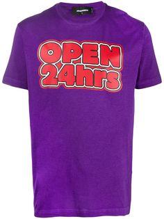Dsquared2 футболка с надписью
