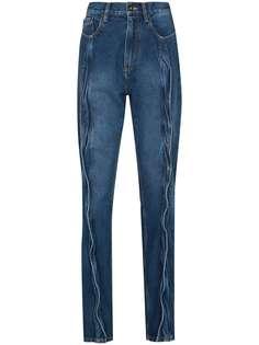 Y/Project декорированные джинсы