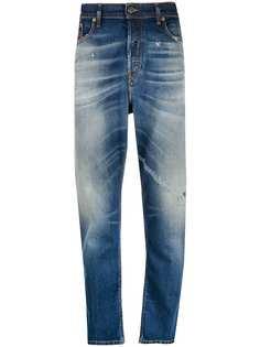 Diesel джинсы D-Vider с эффектом потертости