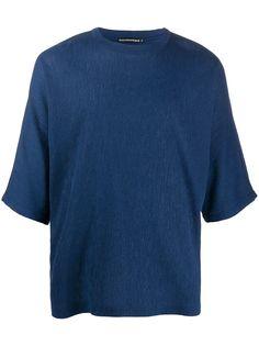Issey Miyake футболка со складками