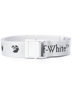 Off-White ремень Industrial с логотипом