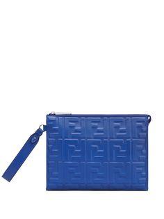 Fendi клатч с логотипом