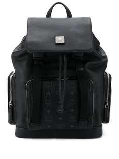 MCM рюкзак с карманами и логотипом