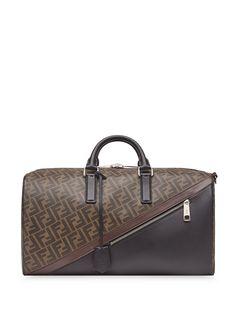 Fendi дорожная сумка с монограммой