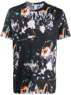 Comme Des Garçons Shirt футболка с абстрактным принтом