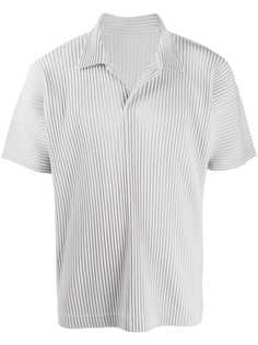 Homme Plissé Issey Miyake плиссированная рубашка поло