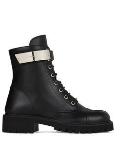 Giuseppe Zanotti байкерские ботинки по щиколотку