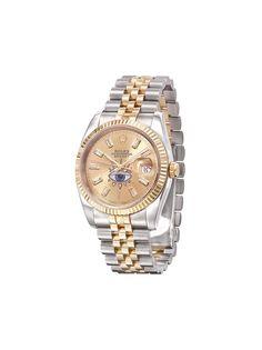 Jacquie Aiche кастомизированные наручные часы Rolex Oyster Perpetual 42 мм