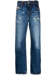 Diesel джинсы прямого кроя